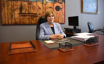 Ministra de Cultura, Carmen Heredia