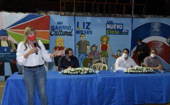 regidora Liz Mieses y el diputado Orlando Jorge Villegas